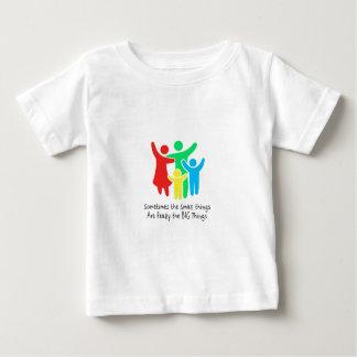 Camiseta De Bebé Las pequeñas cosas son realmente las cosas grandes