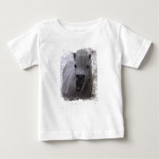 Camiseta De Bebé laughing horse