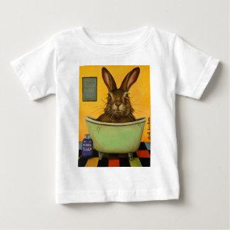 Camiseta De Bebé Lave sus liebres