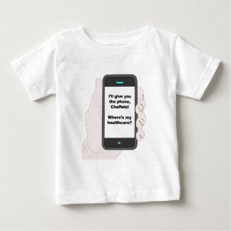 Camiseta De Bebé ¿Le daré el teléfono, donde soy mi atención