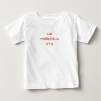 """Camiseta De Bebé """"Le estoy mirando"""" los bebés/camiseta de los niños"""