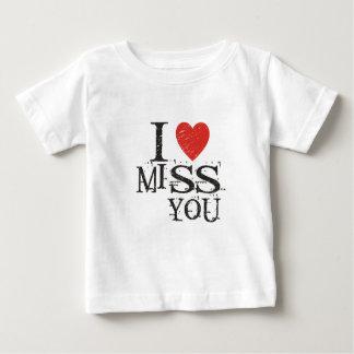 Camiseta De Bebé Le falto, amor