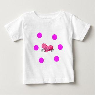 Camiseta De Bebé Lengua birmana (de Myanmar) del diseño del amor
