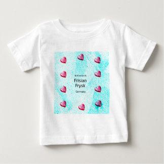 Camiseta De Bebé Lengua del Frisian (Alemania y Países Bajos)