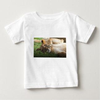 Camiseta De Bebé León Cub africano