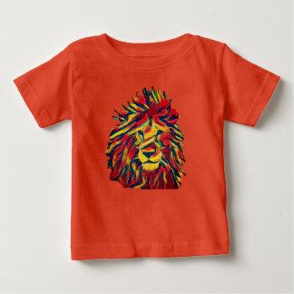 Camiseta De Bebé León de Rasta