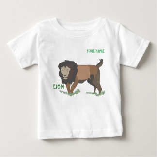 Camiseta De Bebé Leon en la selva