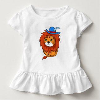 Camiseta De Bebé León lindo y divertido del dibujo animado para sus