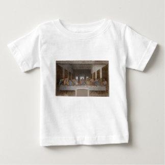 Camiseta De Bebé Leonardo da Vinci - la pintura de la última cena
