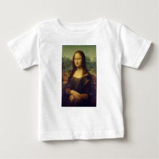 Camiseta De Bebé Leonardo da Vinci - pintura de Mona Lisa