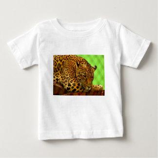 Camiseta De Bebé Leopardo en el registro de Brown