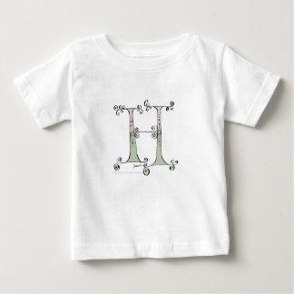 Camiseta De Bebé Letra mágica H del diseño tony de los fernandes