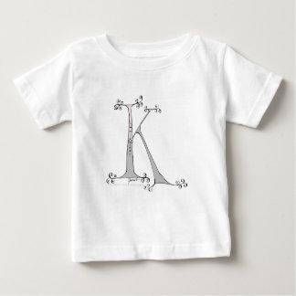 Camiseta De Bebé Letra mágica K del diseño tony de los fernandes