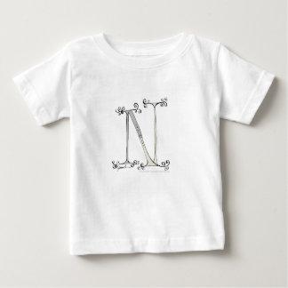 Camiseta De Bebé Letra mágica N del diseño tony de los fernandes