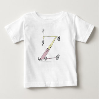 Camiseta De Bebé Letra mágica Z del diseño tony de los fernandes