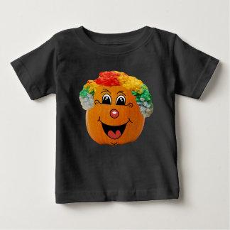 Camiseta De Bebé Levante la cara del payaso de la linterna del o,
