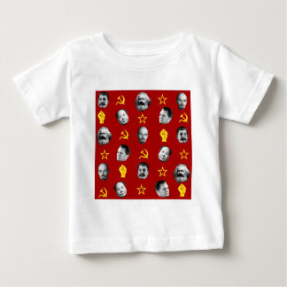 Camiseta De Bebé Líderes comunistas