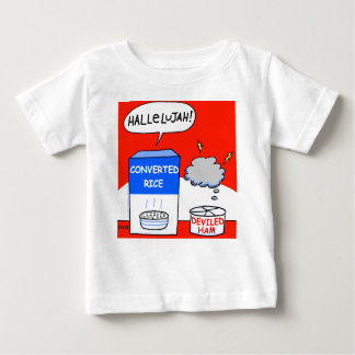 Camiseta De Bebé Limpie al bebé cristiano evangélico divertido del