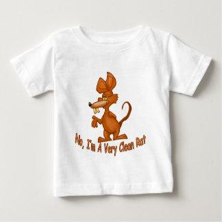 Camiseta De Bebé Limpie la rata
