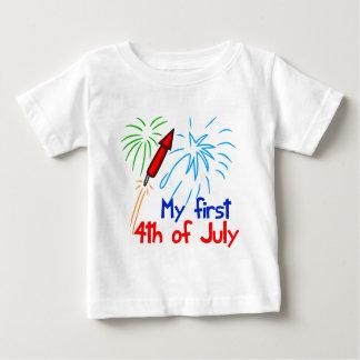 Camiseta De Bebé Lindo el 4 de julio