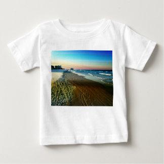 Camiseta De Bebé Línea de la playa y paseo marítimo de Daytona