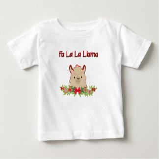 Camiseta De Bebé Llama del la del La del Fa