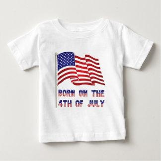 Camiseta De Bebé llevado el 4 de julio
