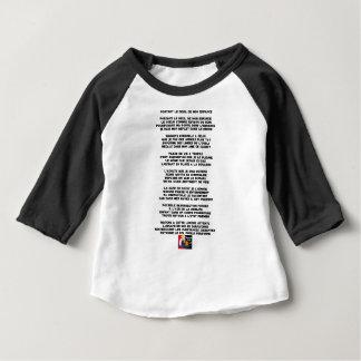 Camiseta De Bebé Llevando el Luto de mi Infancia - Poema