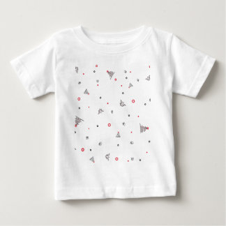 Camiseta De Bebé Lluvia mágica del navidad