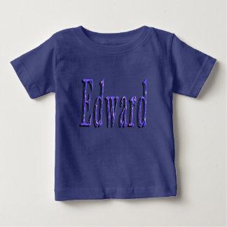 Camiseta De Bebé Logotipo conocido azul de Edward,
