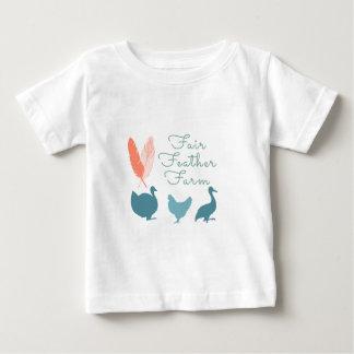 Camiseta De Bebé Logotipo de la granja de la pluma de