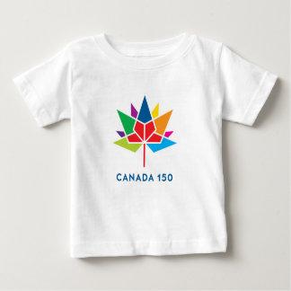 Camiseta De Bebé Logotipo del funcionario de Canadá 150 -
