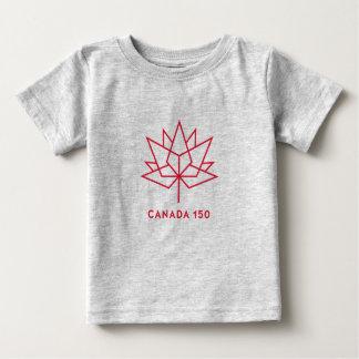 Camiseta De Bebé Logotipo del funcionario de Canadá 150 - esquema