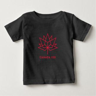 Camiseta De Bebé Logotipo del funcionario de Canadá 150 - negro y