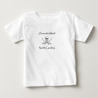 Camiseta De Bebé Logotipo del pirata de Carolina del Norte de la