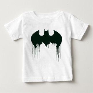 Camiseta De Bebé Logotipo del símbolo el   Spraypaint de Batman
