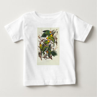 Camiseta De Bebé Loro de Carolina - John James Audubon (1827-1838)