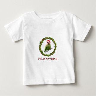 Camiseta De Bebé Loro Santa
