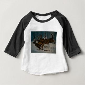 Camiseta De Bebé Los 3 ciervos