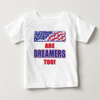 Camiseta De Bebé ¡Los americanos son soñadores también!