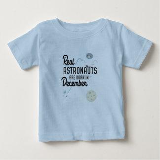 Camiseta De Bebé Los astronautas son en diciembre Zcsl0 nacidos