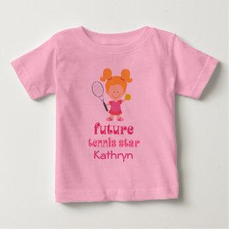 Camiseta De Bebé Los chicas futuros de la estrella de tenis
