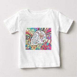 Camiseta De Bebé Los cinco sentidos