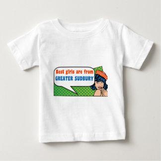 Camiseta De Bebé Los mejores chicas son de mayor Sudbury