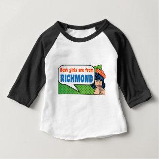 Camiseta De Bebé Los mejores chicas son de Richmond