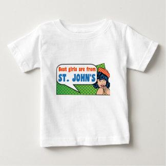 Camiseta De Bebé Los mejores chicas son de San Juan