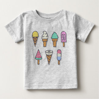 Camiseta De Bebé ¡Los niños del helado rematan - elija su propio