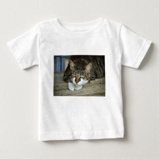 Camiseta De Bebé Los ojos de gato