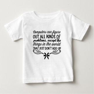 Camiseta De Bebé Los ordenadores pueden imaginar todas las clases
