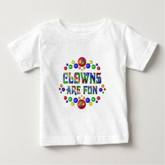 Camiseta De Bebé Los payasos son diversión